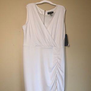 Thalia Sodi white dress